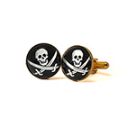 Jolly Roger Cufflinks