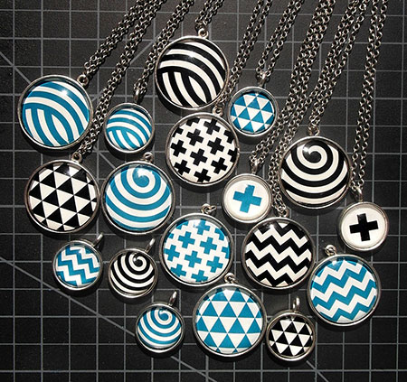 Fauxhemian Jewelry, Necklaces, earrings and rings