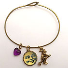 Man in the Moon with With Charm Bracelet