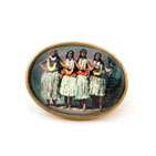 Hula Girls Brooch