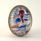 Surfer Boy Brooch