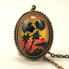 Tropical Sunset Deluxe Necklace
