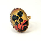 Tropical Sunset Petite Ring