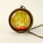 Mellow Yellow Buddha Necklace
