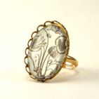 Loverly Weeds Petite Ring