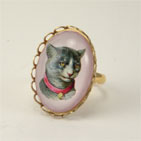 Fancy feline Petite Ring