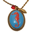 Sea Horse Deluxe Necklace