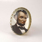 Abraham Lincoln Cocktail Ring