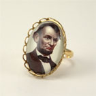Abraham Lincoln Petite Ring