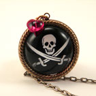 Jolly Roger Petite Necklace