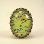 Paris Map Ring