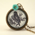 All The Wiser Petite Owl Necklace
