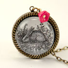 Down The Rabbit Hole Necklace