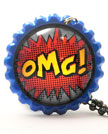 Smash Caps OMG Necklace